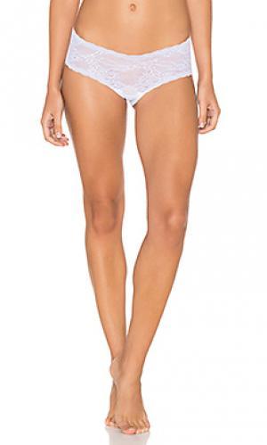 Короткие шорты trenta Cosabella. Цвет: белый