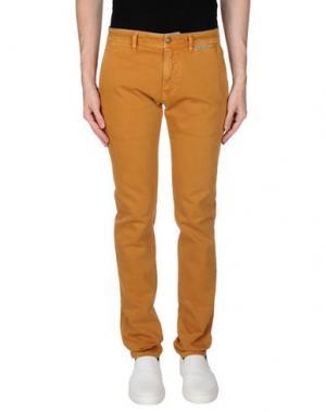 Джинсовые брюки HARMONT&BLAINE. Цвет: охра