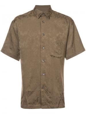 Рубашка Papi Second/Layer. Цвет: коричневый