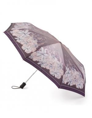 Зонт aвтомат Хризантемы Henry Backer. Цвет: бежевый