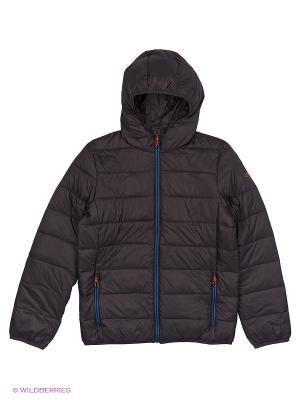 Куртка CMP. Цвет: темно-серый, антрацитовый