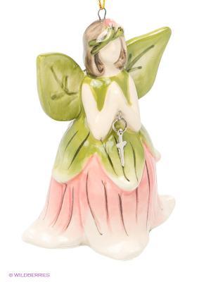 Колокольчик Ангел Blue Sky. Цвет: розовый, зеленый