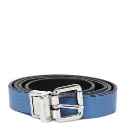 Ремень  DBL02/20GC голубой GIANNI CHIARINI