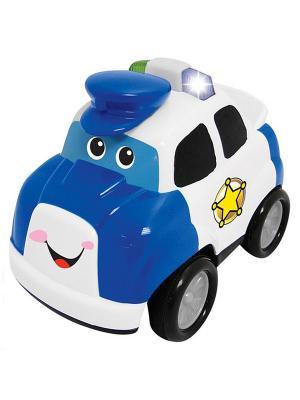 Развивающая игрушка Полицейский автомобиль Kiddieland. Цвет: синий, белый