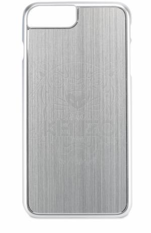 Чехол для iPhone 6 Plus с отделкой металлом Kenzo. Цвет: серебряный