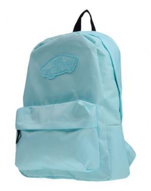 Рюкзаки и сумки на пояс VANS. Цвет: небесно-голубой