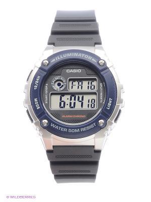 Часы Casio W-216H-2A. Цвет: синий