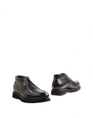 Полусапоги и высокие ботинки FRANCESCHETTI. Цвет: черный