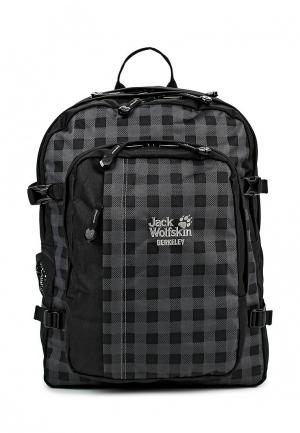 Рюкзак Jack Wolfskin. Цвет: черно-белый