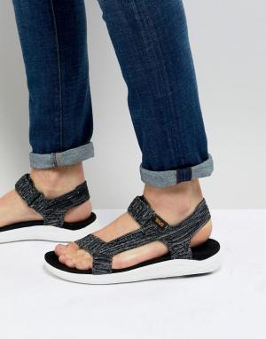 Teva Трикотажные сандалии Float 2 Universal. Цвет: черный