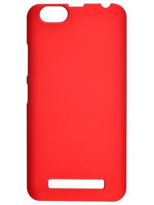 Накладка для Lenovo Vibe C skinBOX. Серия 4People. Защитная пленка в комплекте. skinBOX. Цвет: красный
