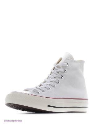 Кеды CT 70 HI WHITE/EGRET/BLK Converse. Цвет: белый