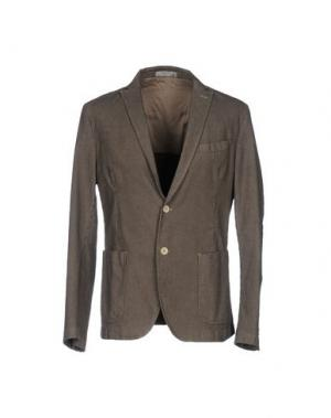 Пиджак MANUEL RITZ WHITE. Цвет: черный