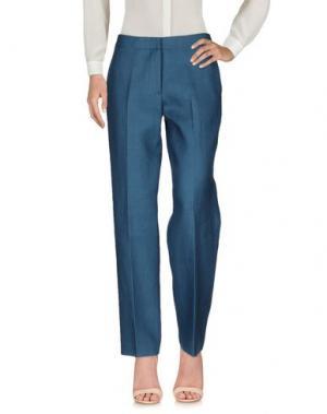 Повседневные брюки N_8. Цвет: зеленый-милитари