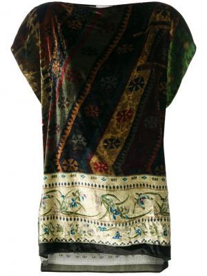 Printed tunic Pierre-Louis Mascia. Цвет: многоцветный