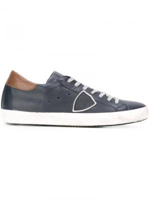 Кроссовки Classic Laker Philippe Model. Цвет: синий