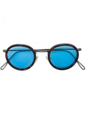 Солнцезащитные очки Matti Kyme. Цвет: коричневый