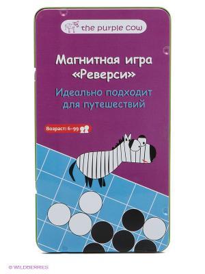 Магнитная игра - Реверси THE PURPLE COW. Цвет: фиолетовый, голубой
