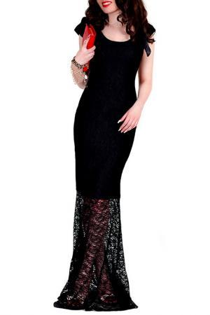 Платье MONT PELLIER. Цвет: черный, кружево