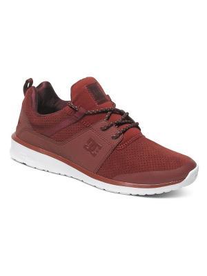 Кроссовки DC Shoes. Цвет: бордовый