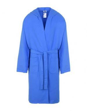 Банный халат ARENA. Цвет: лазурный