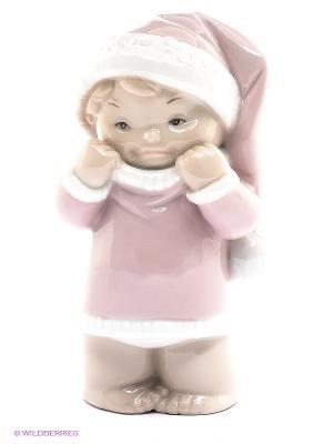 Фигурка Ангелочек Pavone. Цвет: бледно-розовый, молочный