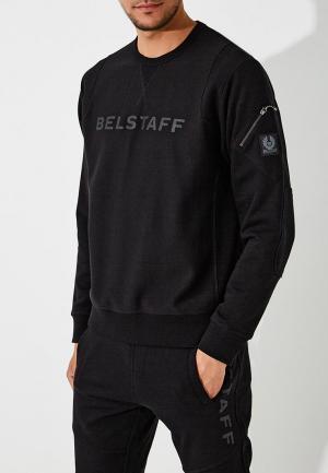 Свитшот Belstaff. Цвет: черный