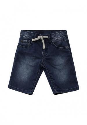 Шорты джинсовые Brums. Цвет: синий