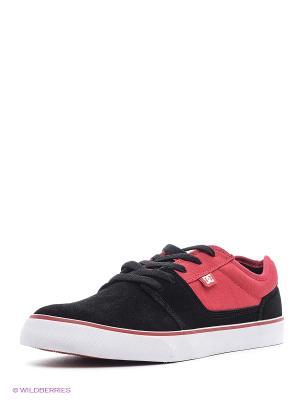 Кеды DC Shoes. Цвет: антрацитовый, темно-зеленый, темно-серый