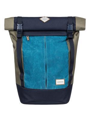 Рюкзак Quiksilver. Цвет: лазурный, темно-синий