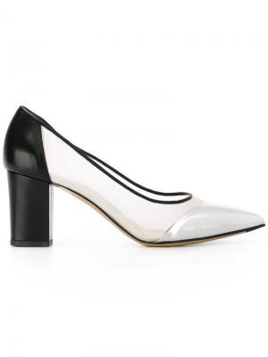 Туфли-лодочки с заостренным носком Bionda Castana. Цвет: чёрный