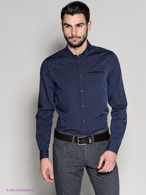 Рубашка 18CRR81 CERRUTI. Цвет: синий