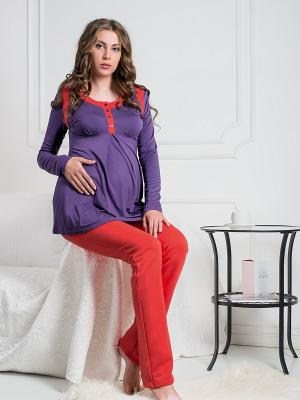 Блузка Blush Nid d'Ange. Цвет: фиолетовый