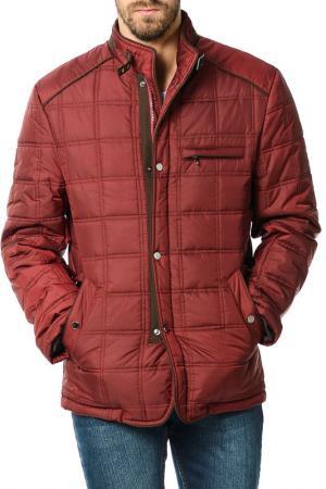 Куртка Dewberry. Цвет: bordeaux