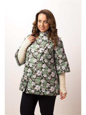 Куртка ДушеГрея. Цвет: зеленый
