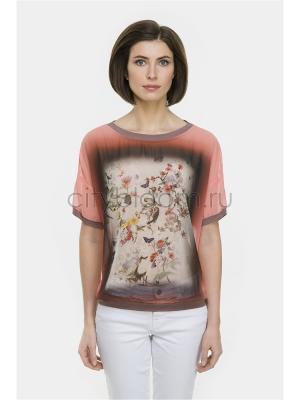 Блузка Modern. Цвет: розовый
