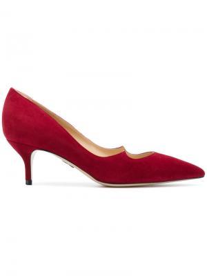 Туфли Zenadia 55 Paul Andrew. Цвет: красный