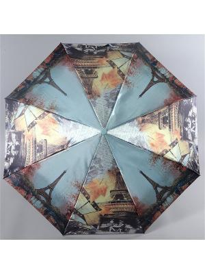Зонт Magic Rain. Цвет: серо-голубой, рыжий, серый