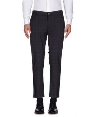 Повседневные брюки 26.7 TWENTYSIXSEVEN. Цвет: баклажанный