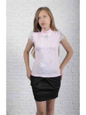 Блузка ZEBRA KIDS. Цвет: розовый