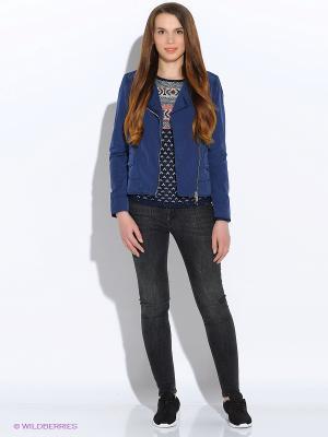 Куртка GEOX. Цвет: темно-фиолетовый, темно-серый