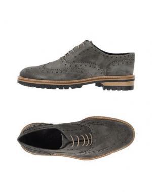 Обувь на шнурках GOLD BROTHERS. Цвет: серый