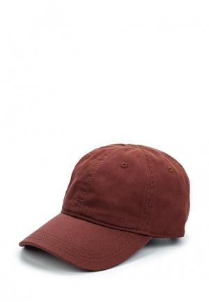 Бейсболка Lacoste. Цвет: коричневый
