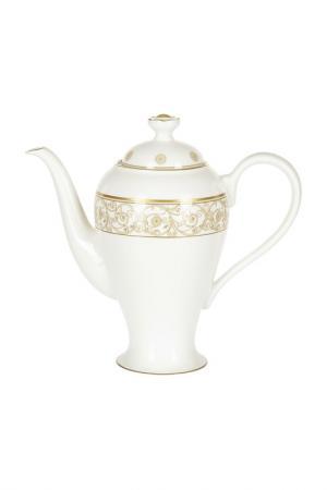 Кофейник 1,2 л Royal Porcelain. Цвет: белый, золотой