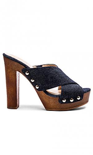 Туфли на каблуке elora Vince Camuto. Цвет: синий
