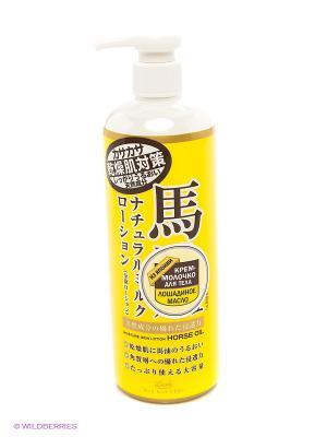 Крем-молочко для тела с лошадиным маслом Roland. Цвет: желтый
