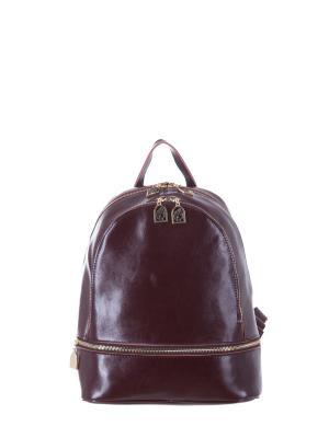 Рюкзак  натуральная кожа Princessa. Цвет: светло-коричневый
