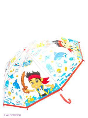 Зонт Пират Джек из Нейтландии Играем вместе. Цвет: прозрачный, красный