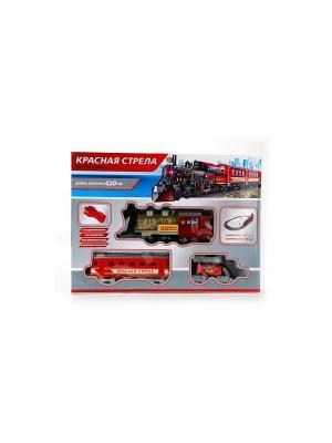 Железная дорога Играем Вместе красная стрела радиоуправляемый. Цвет: серый, красный