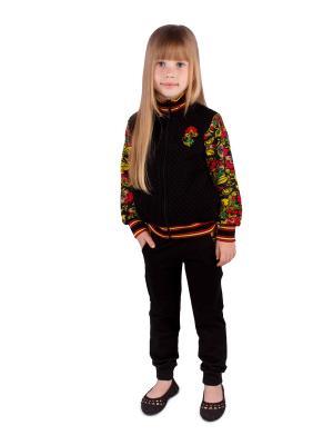Комплект одежды Апрель. Цвет: черный, красный, желтый
